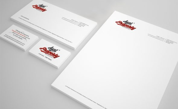 Just's Property Maintenance stationery